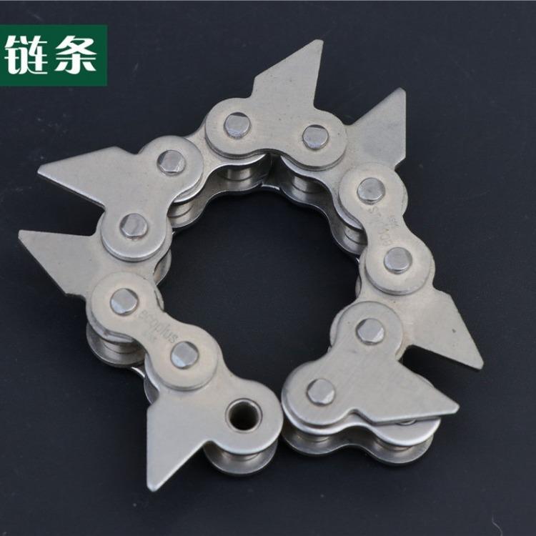 传动链条厂家直销 不锈钢顶板链 40a链条 质量保证