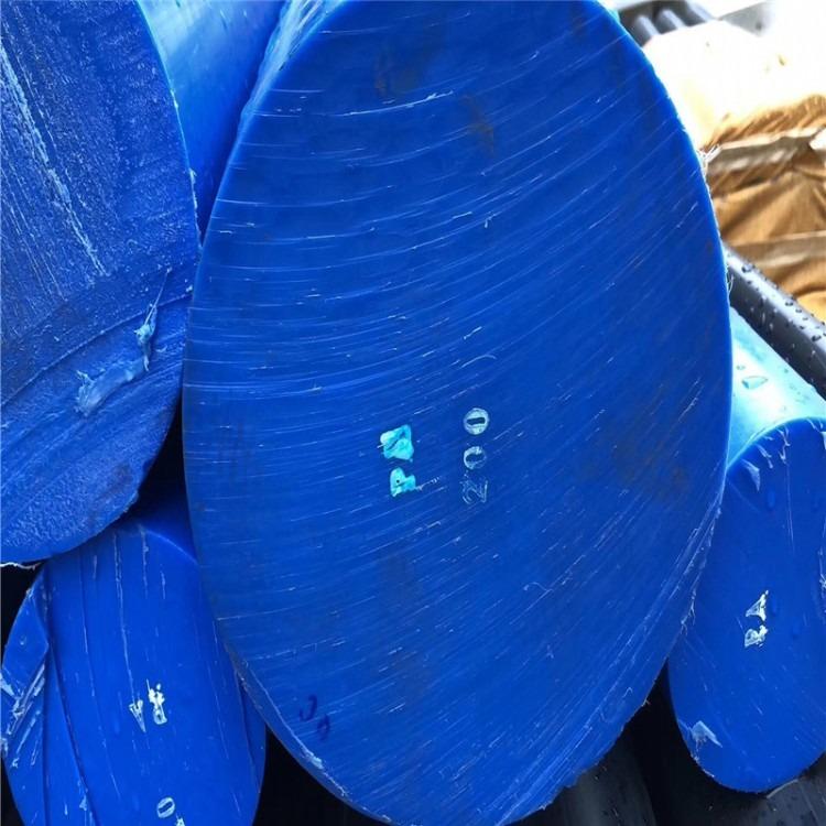 尼龙厂家直销 全新料PA66尼龙板 蓝色MC尼龙棒 PA6+GF30尼龙棒 耐磨大直径尼龙棒 定制彩色尼龙棒