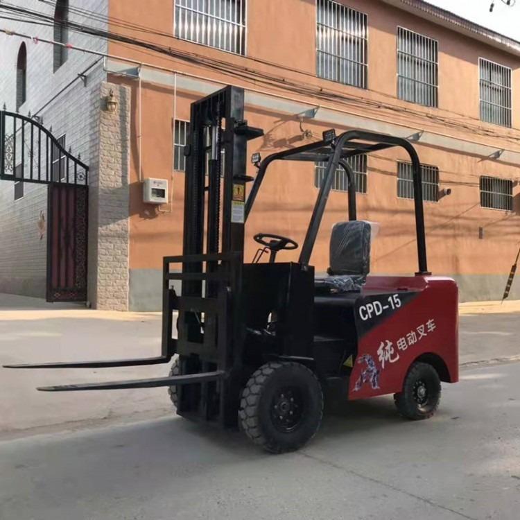 江淼兴座驾式电动叉车,新能源环保电动叉车搬运车,1吨叉车1.5吨小型叉车