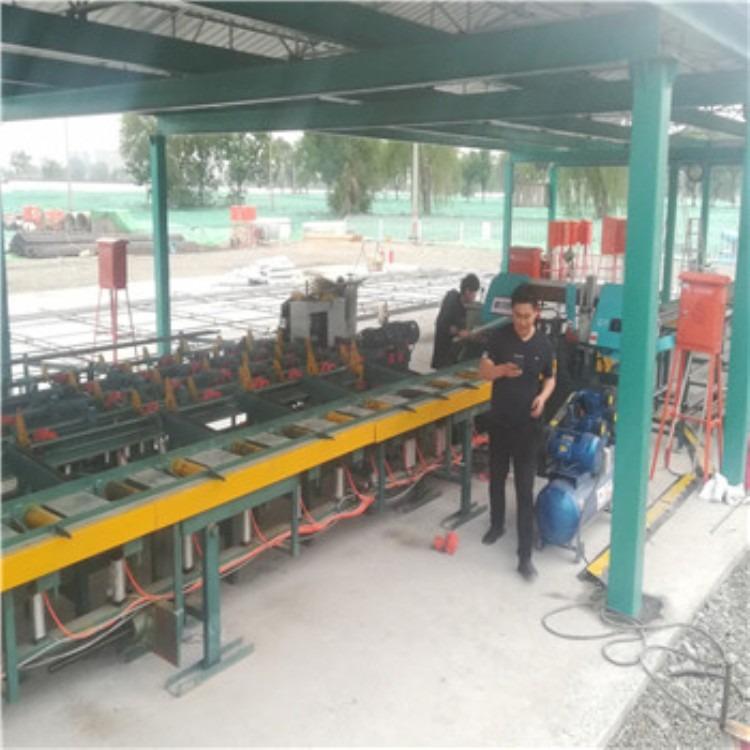 专业供应-钢筋锯切套丝生产线-锯切套丝生产线