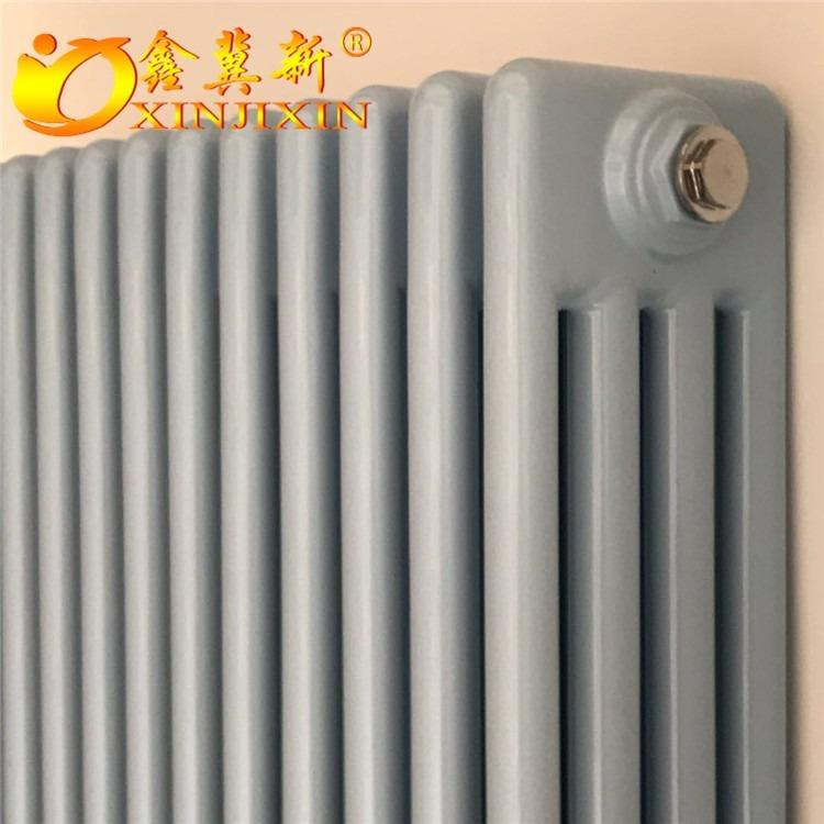 钢制圆管柱型散热器qfgz406 钢四柱暖气片 钢四柱暖气片厚度