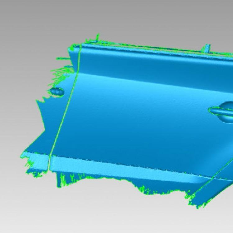 昆山玉山镇高精度三维扫描仪扫描超级小型塑胶品高精度娴熟逆向设计与逆向反求同时加以数据分析结构分析