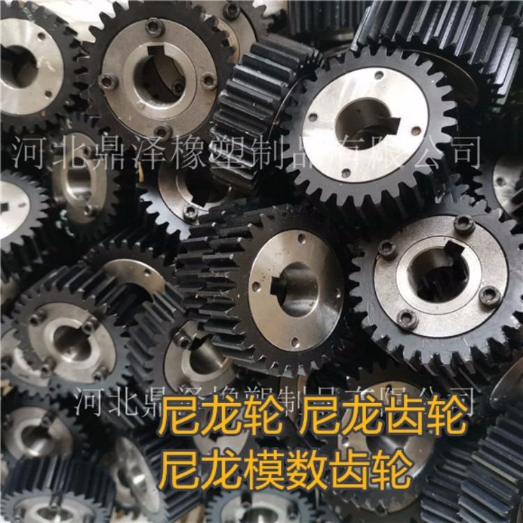 鼎泽注塑加工厂 轴承塑料轮 带轴承塑料齿轮 齿轮厂家