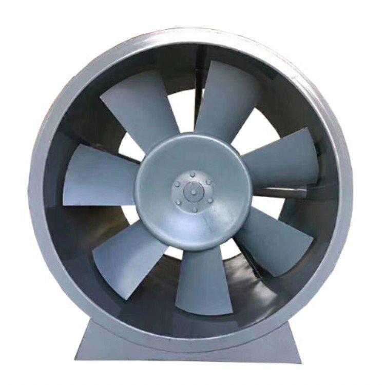 厂家直销低噪音轴流风机 高温排烟风机箱 HTF风机