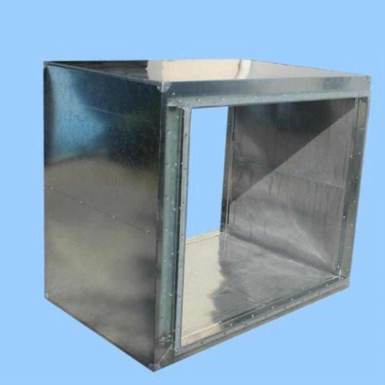 不锈钢风管铁皮风管 复合风管 可定制风管风管消声器通风管道
