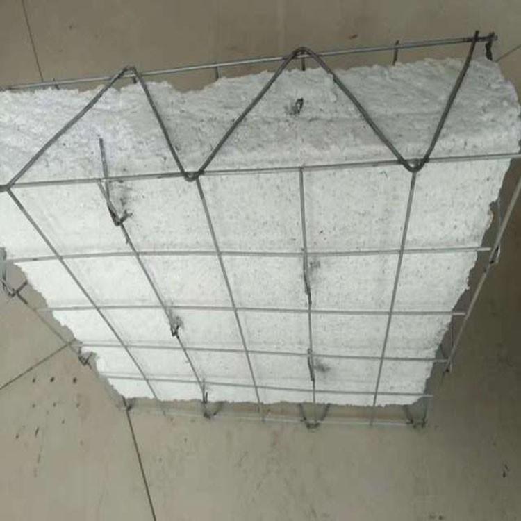 钢丝网架珍珠岩板 钢丝网架珍珠岩隔墙板 隔热隔音保温高强度 中正