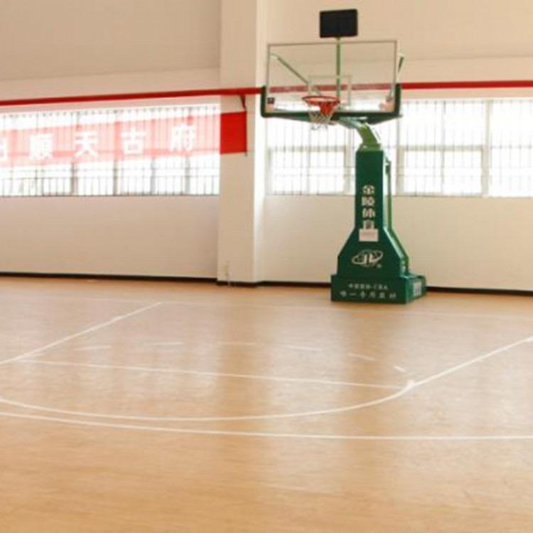 唐山pvc运动地板厂家 体育场专用塑胶地板