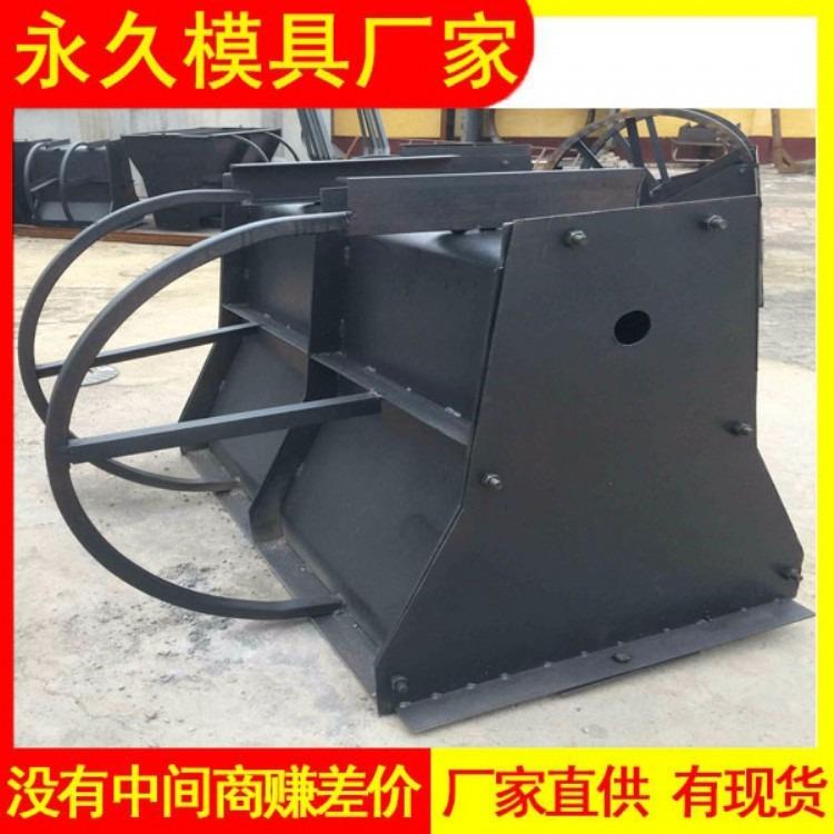 混凝土隔离墩模具生产标准 钢筋混凝土隔离墩钢模具 预制模具生产