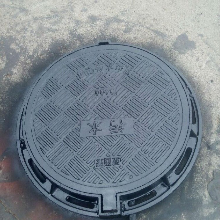 复合树脂窨井盖 钢筋结构耐磨耐压 500x50圆形井盖