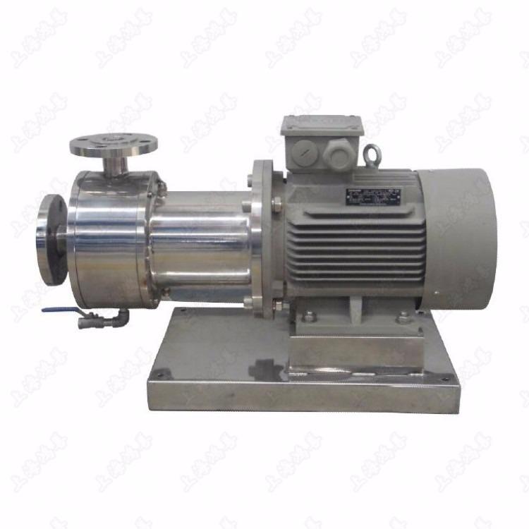 单级乳化泵,管线式乳化机,管线式乳化泵,单级高剪切乳化泵