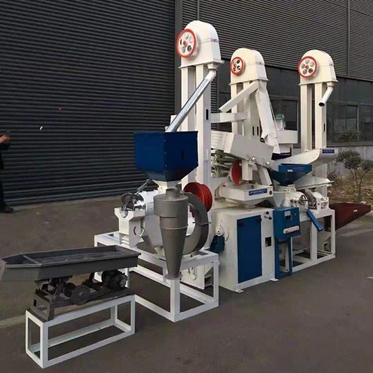 山东粮浩 15吨大米加工成套设备(小型)碾米新型机高粱米机
