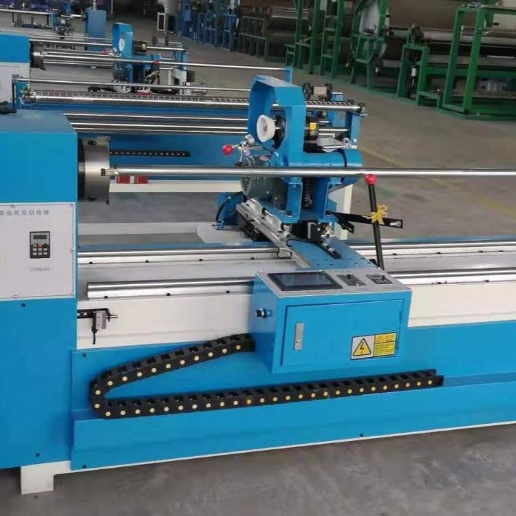 展顺机械厂家二手全新全自动分条机切捆条机斜纹直纹打卷机