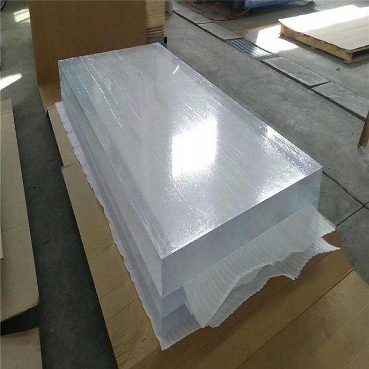 亚克力卡槽a4 5插槽插纸盒定做 透明有机玻璃展示盒子 亚克力板定制彩色板 激光热弯亚克力板1-100mm