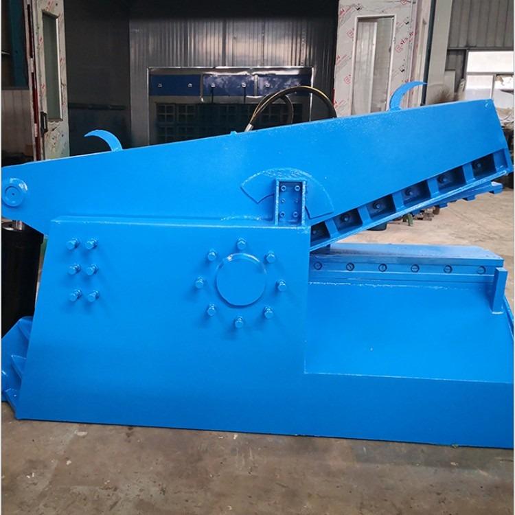 1米刀口鳄鱼剪板机 废钢金属剪断机 高效节能压力鳄鱼剪切机