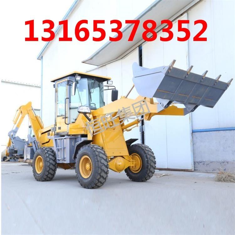 汕头厂家现货供应两头忙装载挖掘机 小型挖掘机