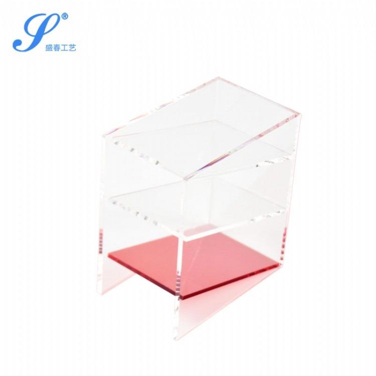 亚克力创意支架 透明水晶相框厂家 盛春广告