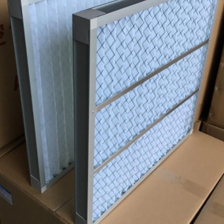 厂家生产约克开利麦克维尔空调配套G3 G4 板式初效过滤器耐清洗