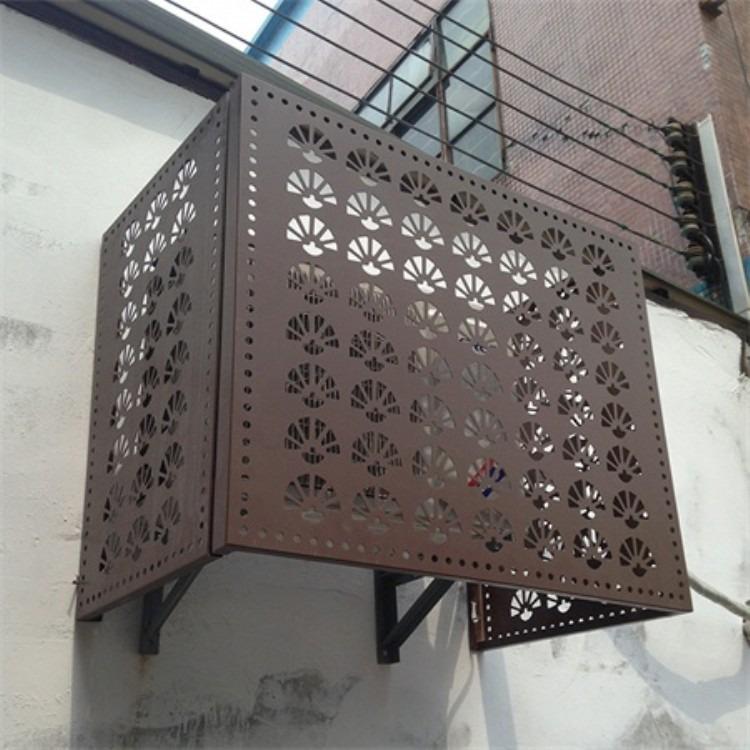 空调保护罩厂家定制 空调外机罩 铝合金空调罩价格