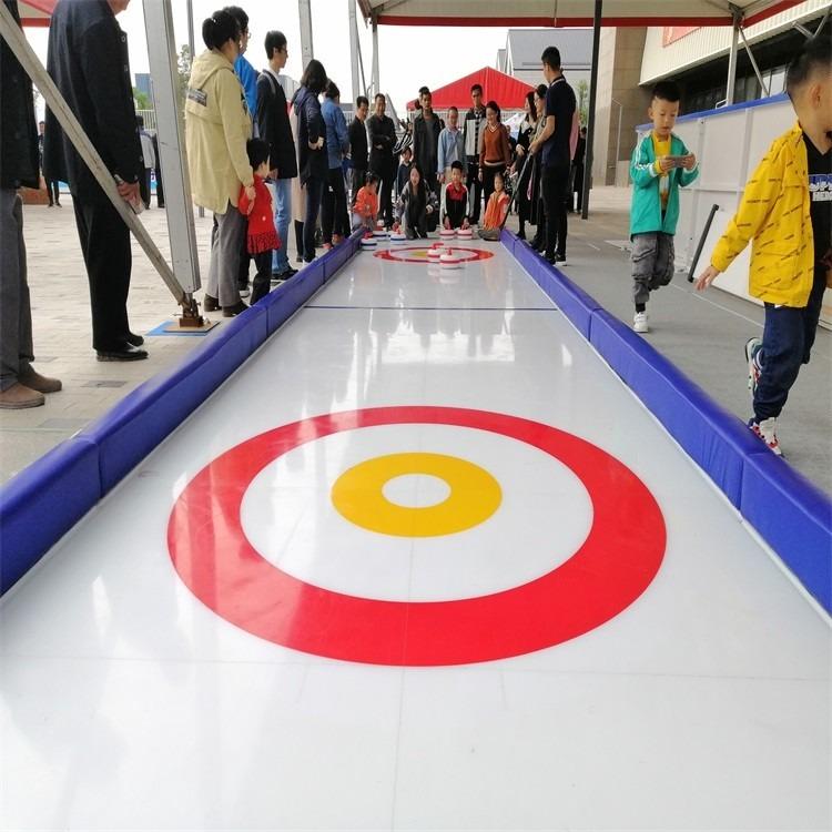 厂家直销 仿真冰溜冰板 旱冰场用超高分子量聚乙烯地板 自润滑