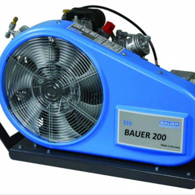 德国进口bauer宝华空气压缩机 呼吸机 BAUER 200