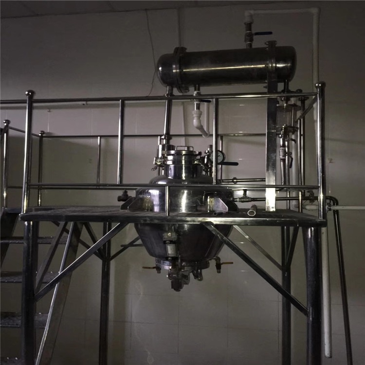 处理二手蒸发器多效蒸发器 二手双效蒸发器厂家直销 不锈钢三效蒸发器,