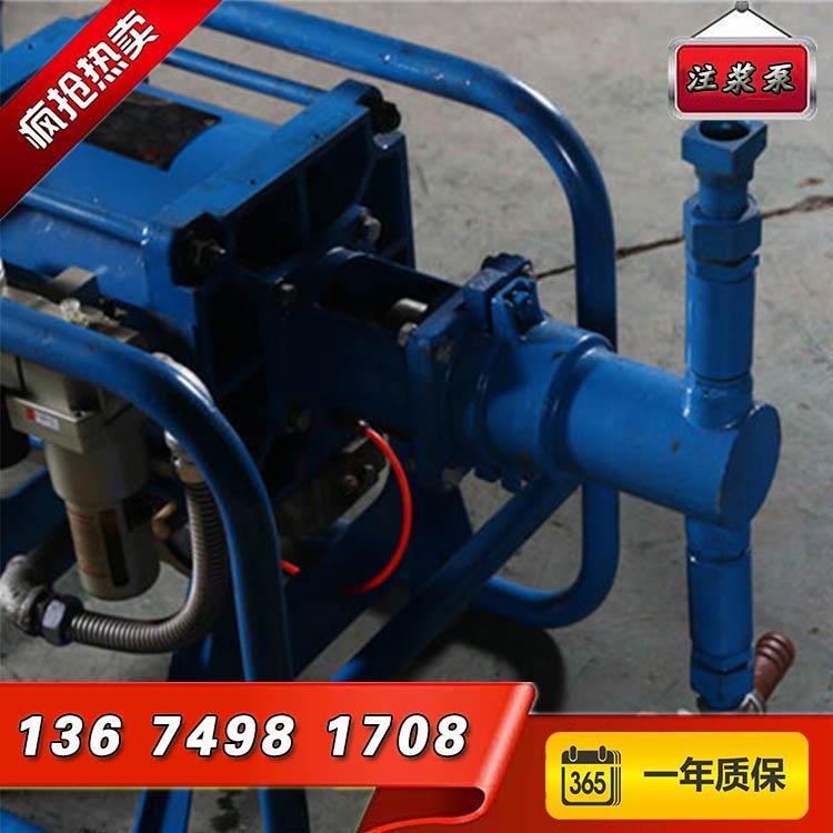 西双版纳2ZBQ504型气动注浆泵结构图