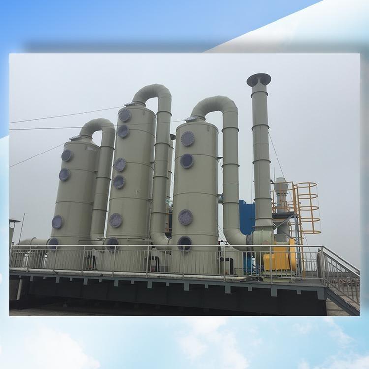 泉州大型烤漆房废气处理设备废气处理成套设备废气净化设备有机废气处理设备