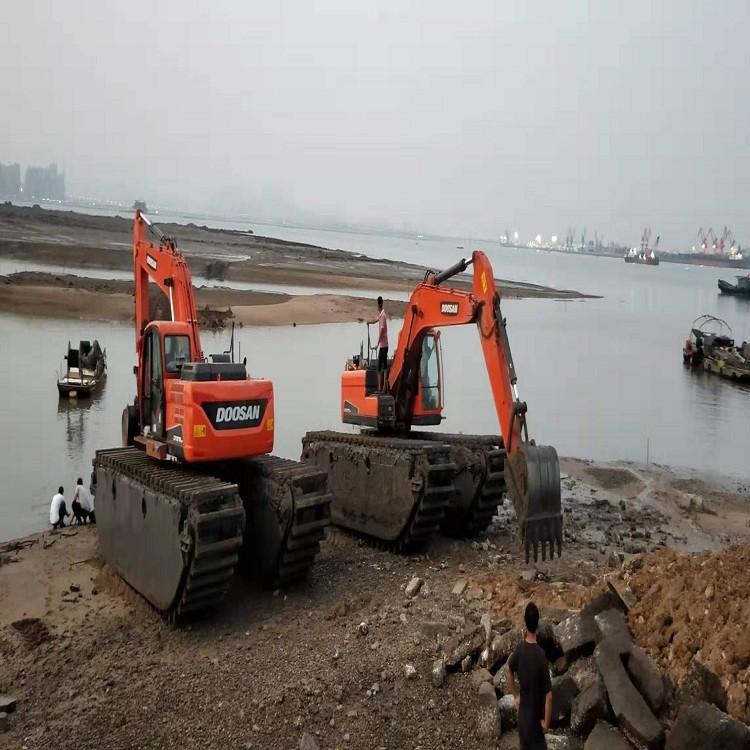 厂家直销云霄 水陆挖掘机 水陆挖掘机租赁 水上挖掘机厂家