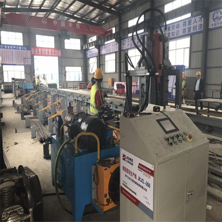 专业厂家 路建机械 数控钢筋剪切生产线 钢筋剪切生产机
