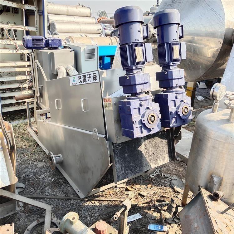 叠螺式污泥压滤机 寿命长 德润 二手耐腐蚀压滤机 品质保障