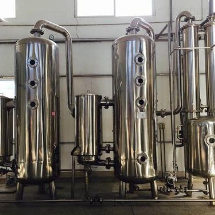 市场回收二手三效浓缩蒸发器  常年回收二手蒸发器