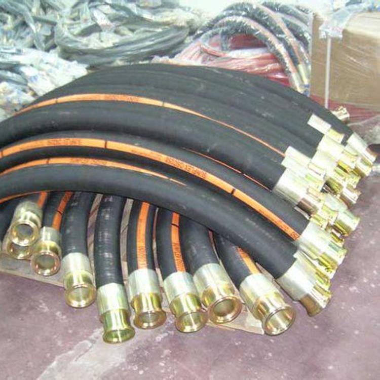高压液压软管防静电胶管高压油管总成厂家直供