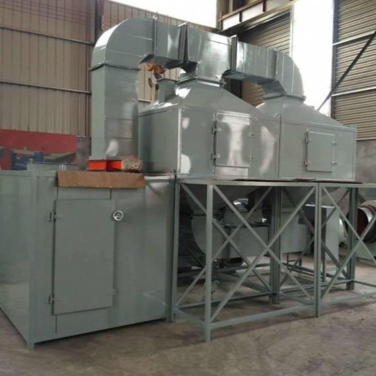 制鞋厂废气处理设备 VOCs废气治理设备 催化燃烧设备