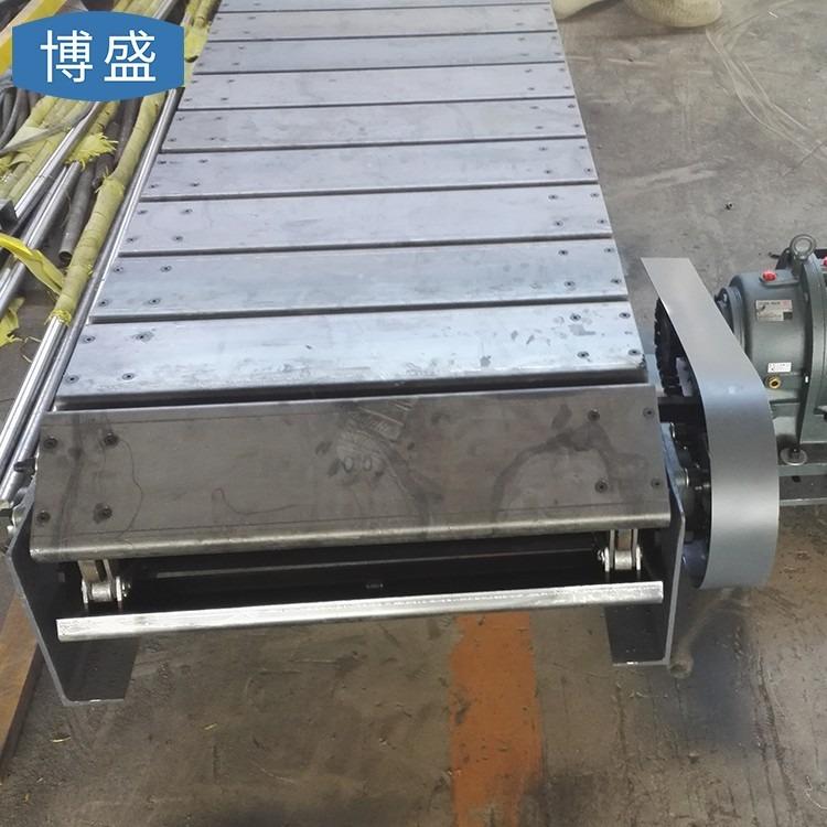 非标定做 不锈钢链板传送带 扣板式链板输送带   流水线折弯输送链板