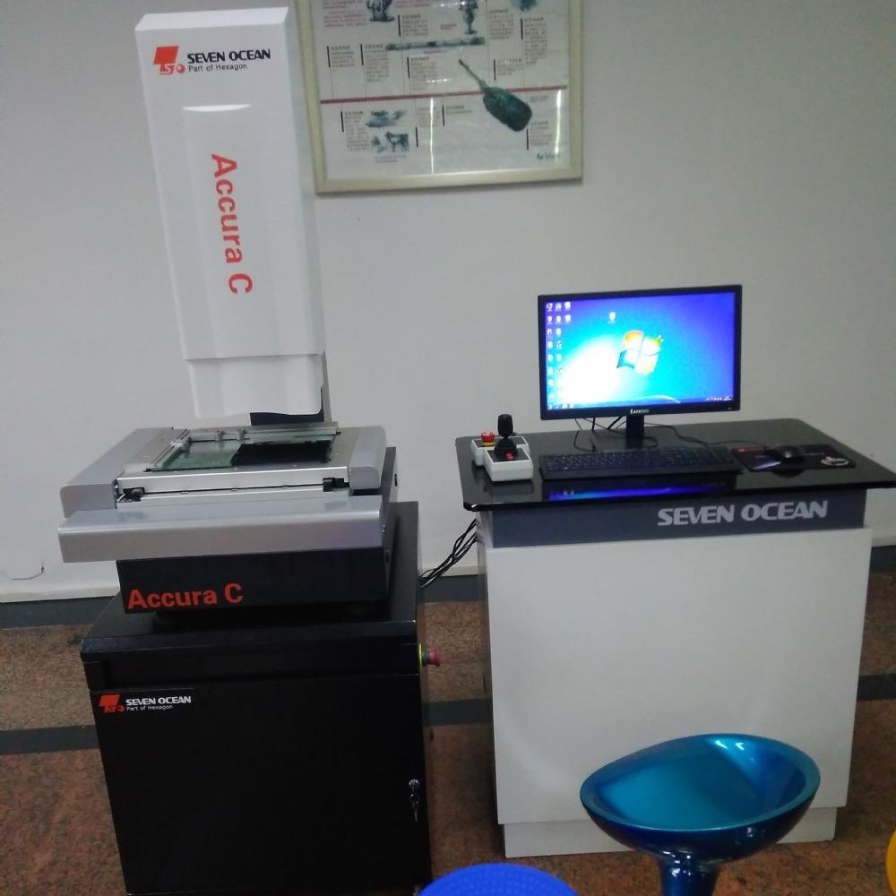 七海三轴全自动影像测量仪 高精度影像检测仪