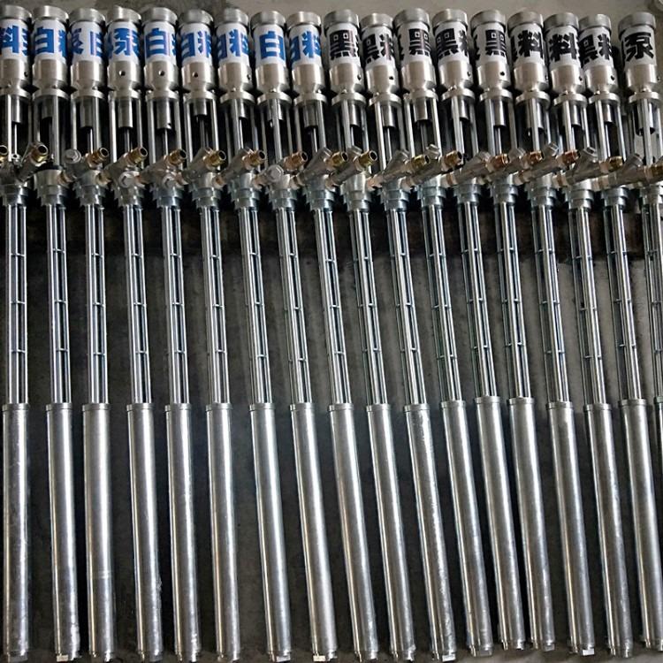 沃斯克机械厂家直销气动提料泵-双组分提料泵-聚氨酯提料泵-聚脲提料泵