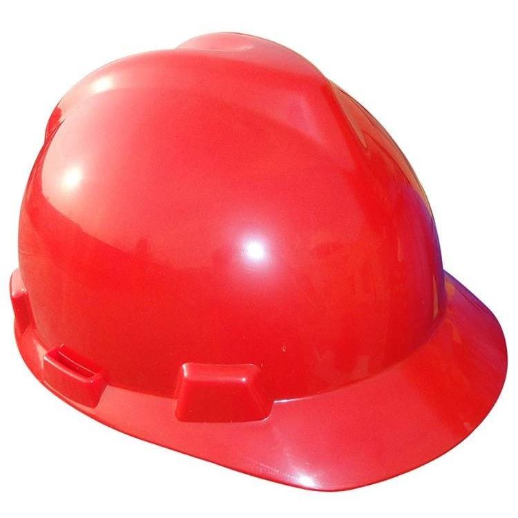 v型abs安全帽 红色安全帽价格 安全帽厂家