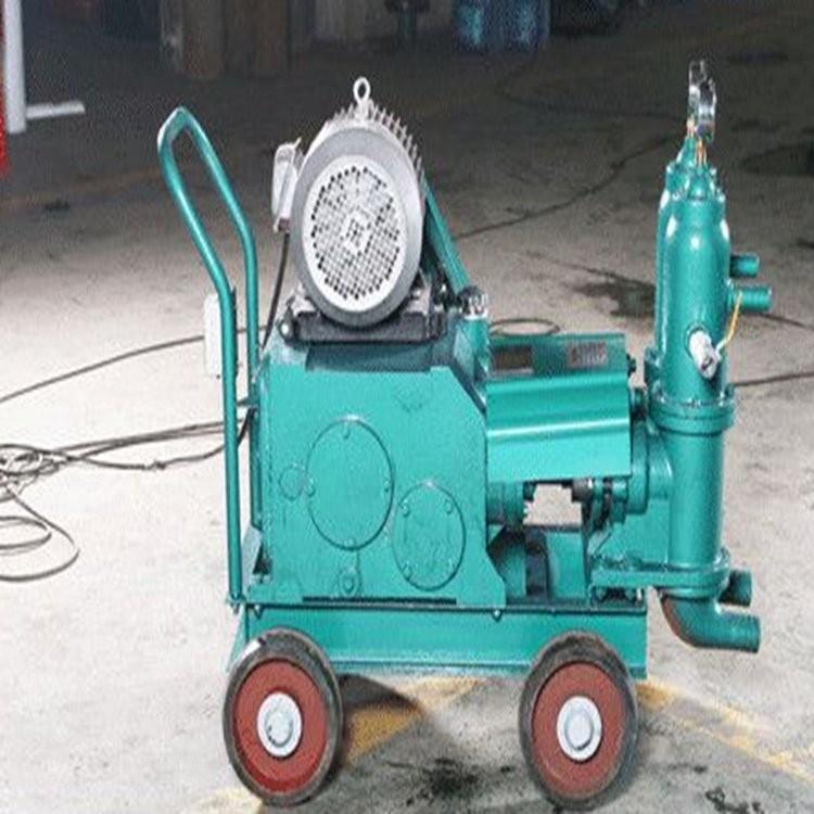 黑龙江佳木斯 HJB系列活塞泵 搅拌机价格 单缸活塞式注浆泵