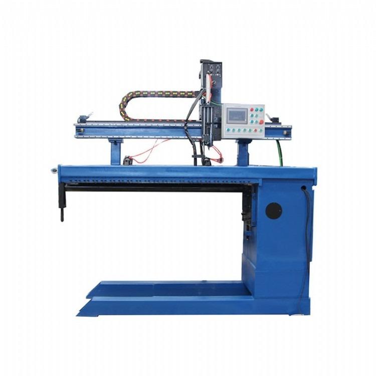 山东纵缝焊机 直缝焊接设备 筒体直焊厂家直供纵缝焊接设备