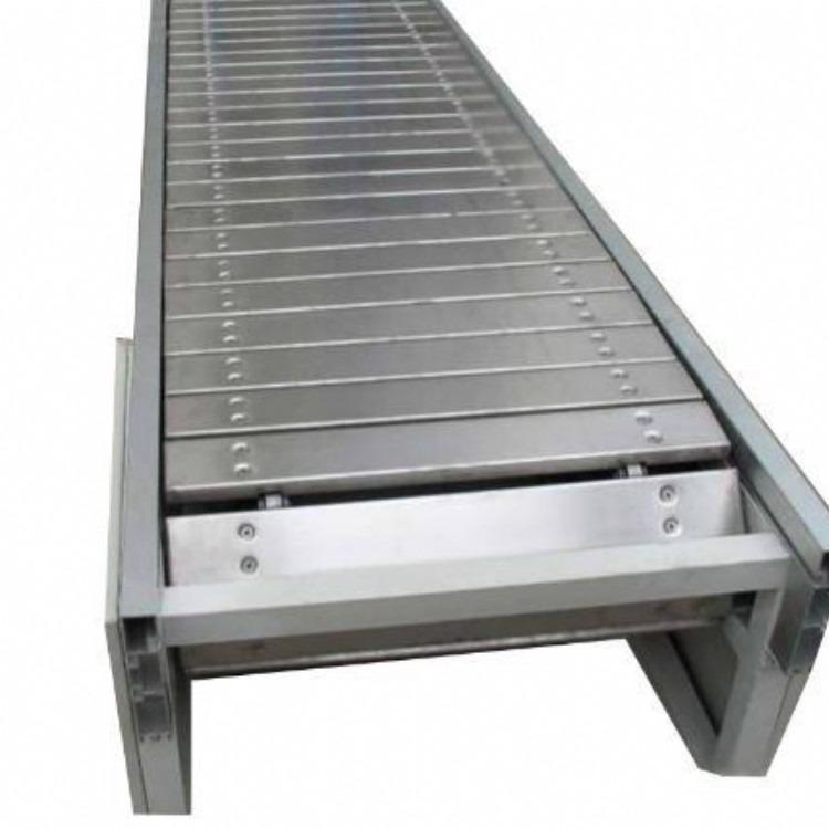 厂家定做链板输送机定做槽钢链板输送机生产厂家链板输送机