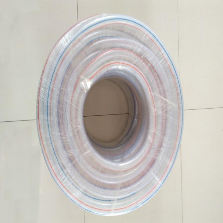 批发透明PVC管蛇皮自来水管防冻爆纤维塑料