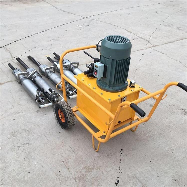 现货供应柴油劈裂机 小型液压劈石器 悍博隧道岩石分裂机