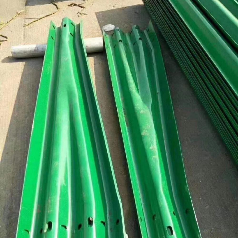 波形护栏 护栏过渡板喷塑护栏板