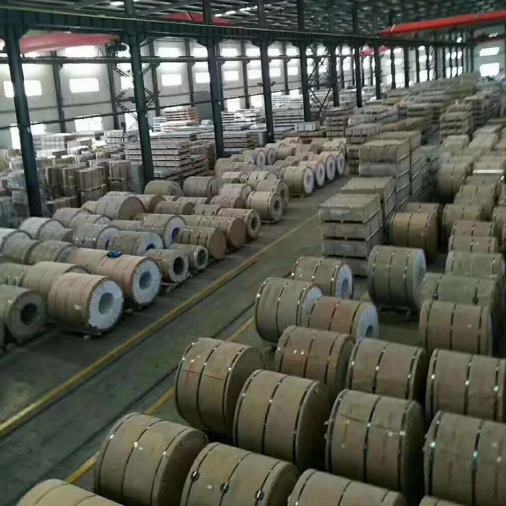 厂家供应0.3-1.0厚度铝卷铝皮 备货有限 20吨以上需一周交货