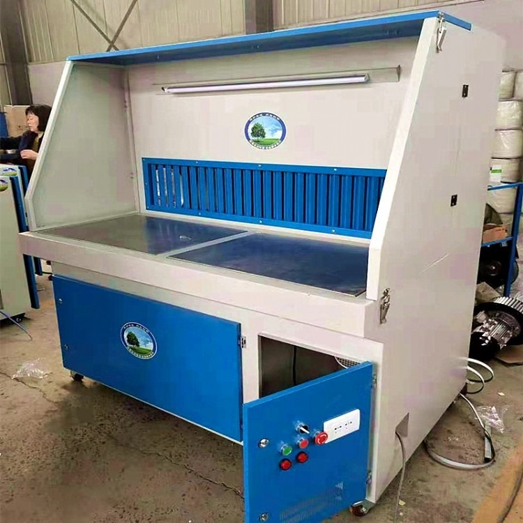 打磨台抛光除尘工作台粉尘收集柜移动式无尘木工金属抛光吸尘设备