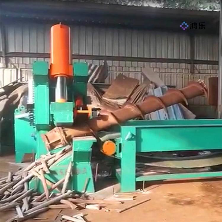 315吨1200刀口虎头剪铁机 315吨1200刀口虎头剪铁机 废铁金属剪切机价格鸿乐