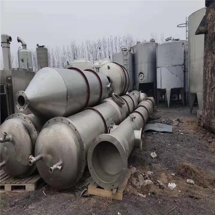 厂家销售二手5-35吨三效蒸发器 二手浓缩蒸发器 二手钛材蒸发器 二手双效蒸发器九成新