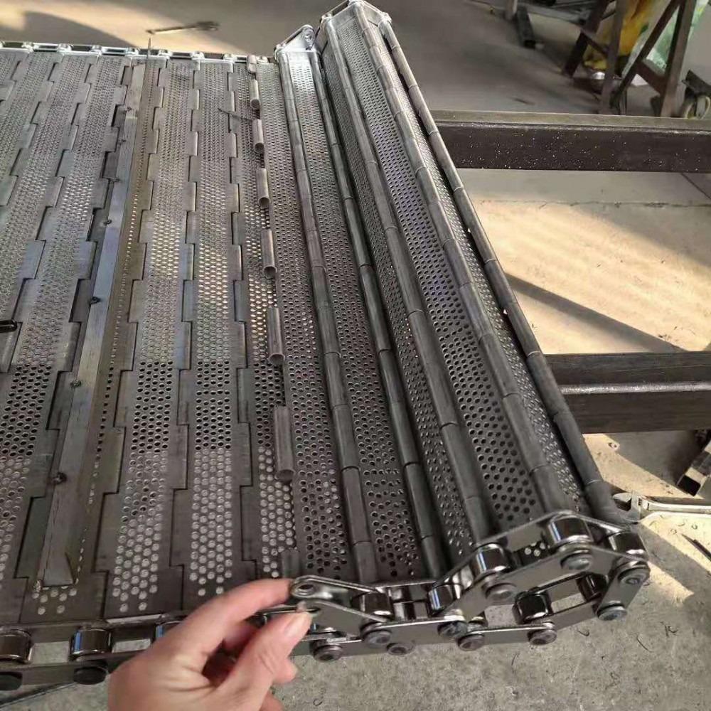 厂家直销 不锈钢链板 板链 网链链板蛋糕食品输送