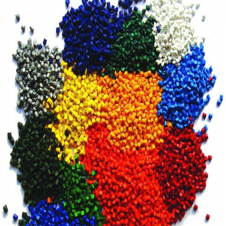 厂家直销 PE高浓度普通彩色母料吹膜专用环保型红母粒防静电母粒 拉丝色母