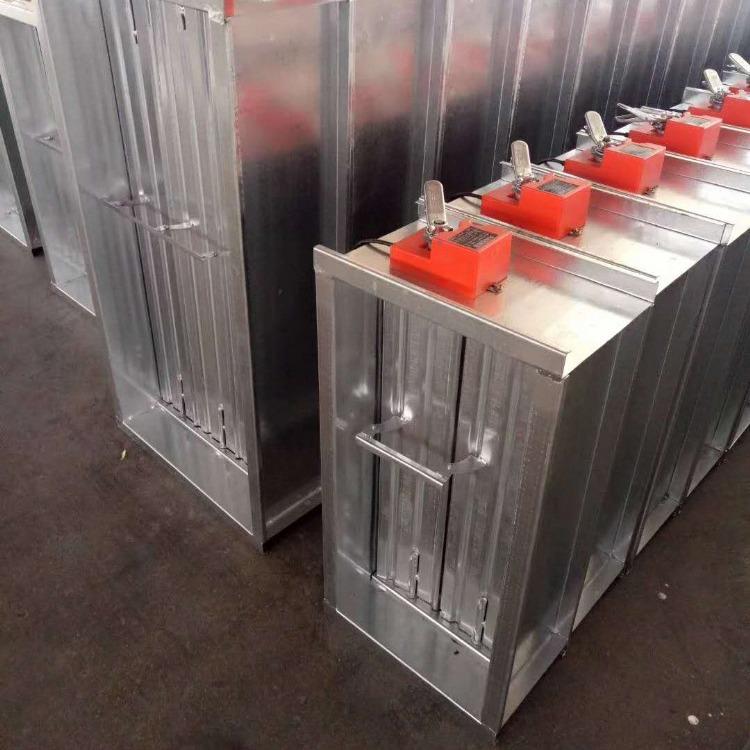 厂家生产风管电动密闭阀 镀锌板不易生锈 风管电动密闭阀寿命长